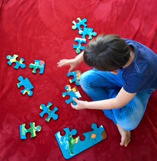 Train your brain with jigsaw puzzles (Feva Foam)
