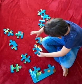Train your brain with jigsaw puzzles (Feva Foam)